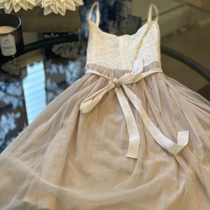 American Eagle / lace and tulle dress